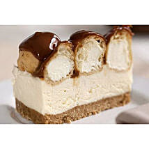 Chocolate Truffle Profiterole Cheesecake: Cakes Delivery in Liverpool