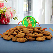 Chota Bheem Almond Nuts Rakhi Hamper: Rakhi to Glasgow