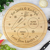 Christmas Special Personalized Chopping Board: Send Personalised Gifts to UK
