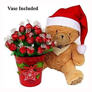 Christmas Teddy Wishes: Christmas Gift Hampers to UK