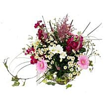 Country Garden Bouquet: Send Diwali Flowers to UK