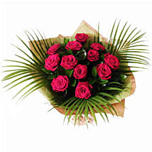 Dozen Red Roses: Send Gifts to Leeds