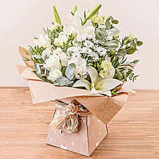 Evelyn Arrangement: Send Easter Flowers to UK
