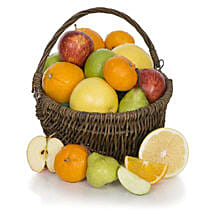 Fruit Basket With Chocolates: Send Gifts to Birmingham