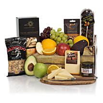 Fruit Cheese n Snacks: Gift Delivery in London