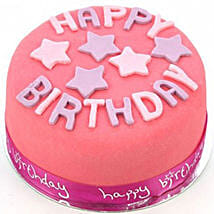Happy Birthday Pink Cake: Birthday Gifts Delivery in UK