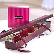 I Love You Chocolate Gift Set: Romantic Gifts to UK