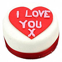 I Love You Heart Cake: Valentine Cake Delivery in UK