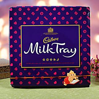 Kids Rakhi Cadbury Milk Chocolate Hamper: Send Rakhi With Chocolates to UK