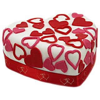 Love Tweet Heart Cake: Order Cakes to UK