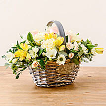 Luxurious Basket: Send Flowers to London