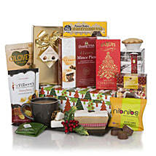 Merry Christmas Gift Hamper: Christmas Gift Hampers to UK