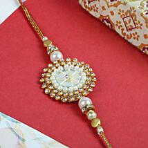 Moon Multi Diamond Thread: Send Rakhi for Brother in Uk
