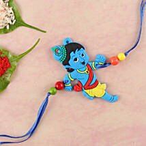 Naughty Little Krishna Kids Rakhi: Gifts for Kids to London