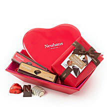 Neuhaus Romantic Gift Basket: Birthday Gifts to UK