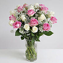 Pastel Fairtrade Roses: Send Gifts to Leeds