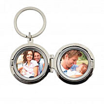 Personalized Dad No.1 Photo Keyring: Send Personalised Gifts to UK
