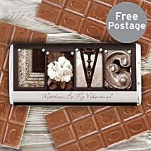 Personalized Milk Chocolate For Art Lovers: Gifts for Anniversary in UK
