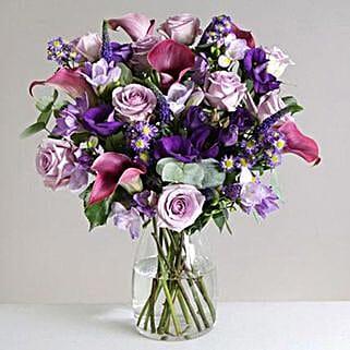 Purple Haze: Send Flowers to Liverpool
