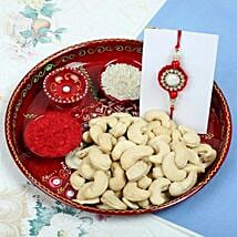 Raksha Bandhan with Cashew Nuts: Send Rakhi for Brother in Uk