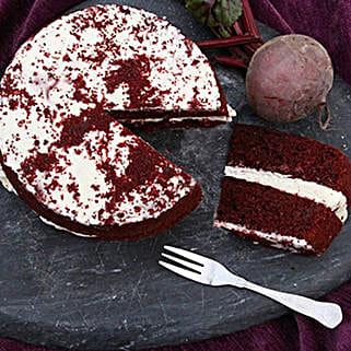 Red Velvet Sponge Cake: Corporate Gifts UK