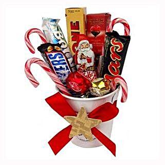 Sweet Christmas Bucket: Christmas Gift Hampers to UK