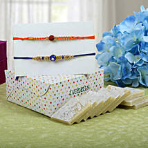 Sweet Kaju Katli Rakhi Hampers: Send Rakhi for Brother in Uk