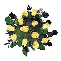 Yellow Roses: Congrats Flowers to UK