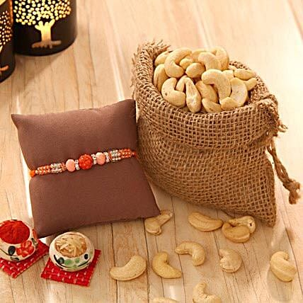 Cashew love with Rakhi