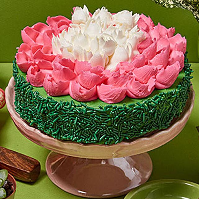 Gourmet Flower Cake
