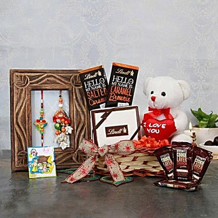 lovely Family Rakhi Hamper
