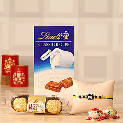 Rakhi Love with Chocolates