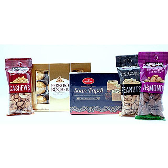 Tasty Sweets N Crunchy Nuts