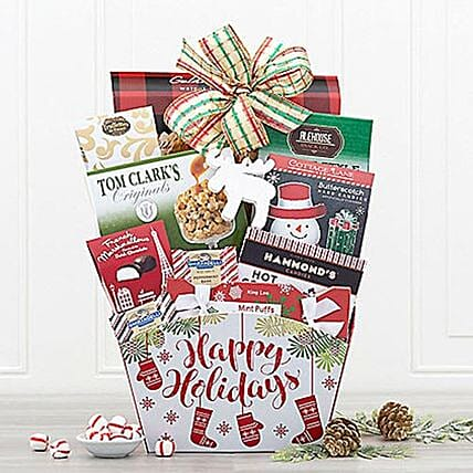 Winter Wonder Gift Basket