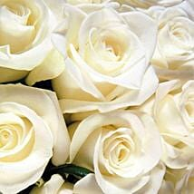 100 Long Stem White Roses: Bouquets for Birthday