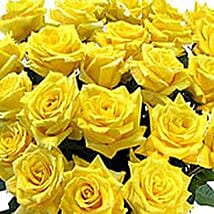 100 Long Stem Yellow Roses: Flower Bouquets for Birthday - USA