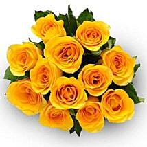 12 Yellow Roses: Send Flowers to Boston