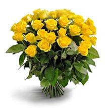 50 Long Stem Yellow Roses: Send Flowers to Columbus