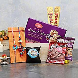 A delightful Rakhi for All: Send Rakhi & Chocolates to USA