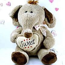 Adorable Elephant Soft Toy: Valentine's Day Gift Delivery in Cary