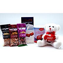 Adorable N Sweet Hamper: Send Dry Fruits to USA