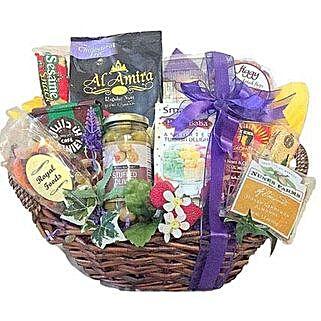 Arabian Nights Gourmet basket: Send Eid Gifts to USA