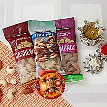 Assorted Dry Fruits Love for Brother: Bhai Dooj Gift Delivery in USA