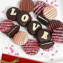 Belgian Choco Covered Oreo: Send Valentine Gifts to Cary