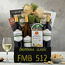 California Classic Gift Basket: Wine Hampers to USA
