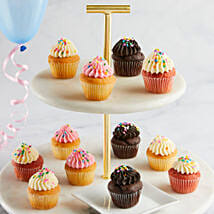 CRUMBS Mini Birthday Cupcakes: Send Cakes to Raleigh