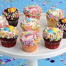 CRUMBS Mini Birthday Cupcakes: Send Cupcakes to USA