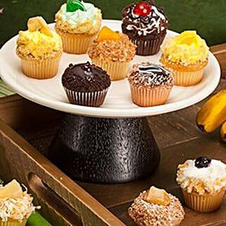 CRUMBS Mini Tutti Frutti Cupcakes: Friendship Day