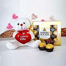 Cute Combo For U: Anniversary Chocolates to USA