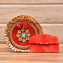 Decorative Rakhi With Puja Thali: Rakhi to Madison